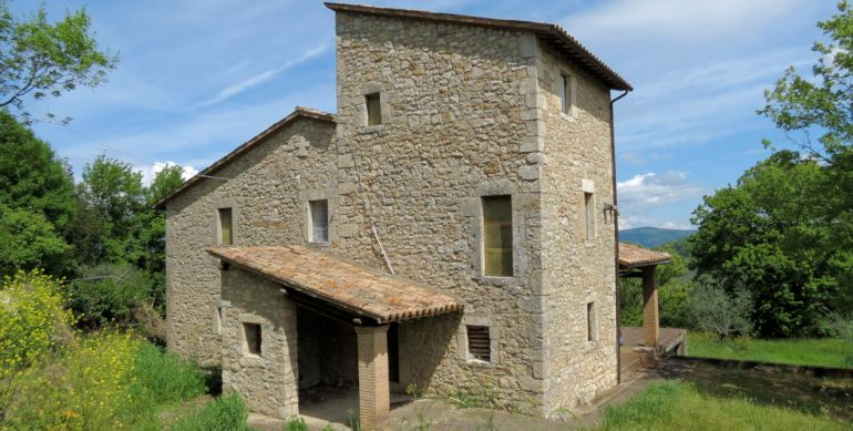 Lovable ancient tower house