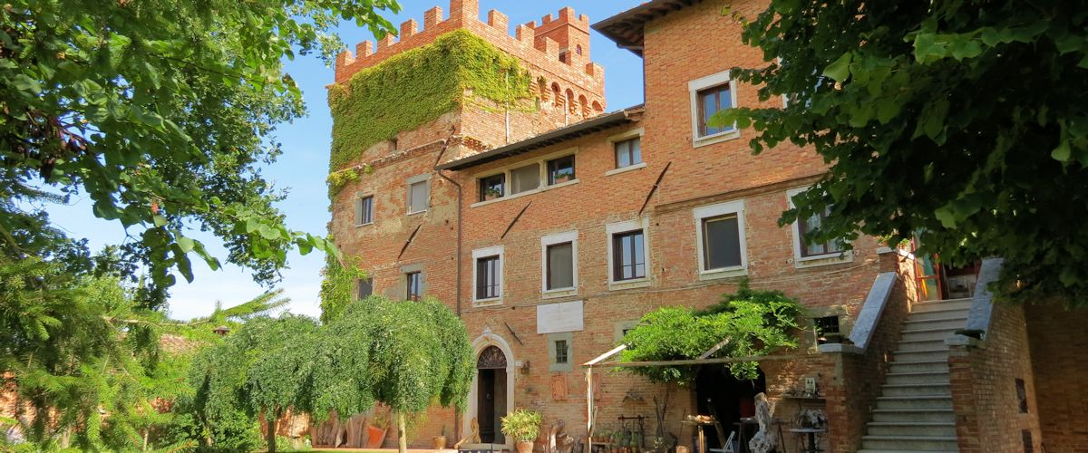 Castle in Tuscany surrounded by Chianti