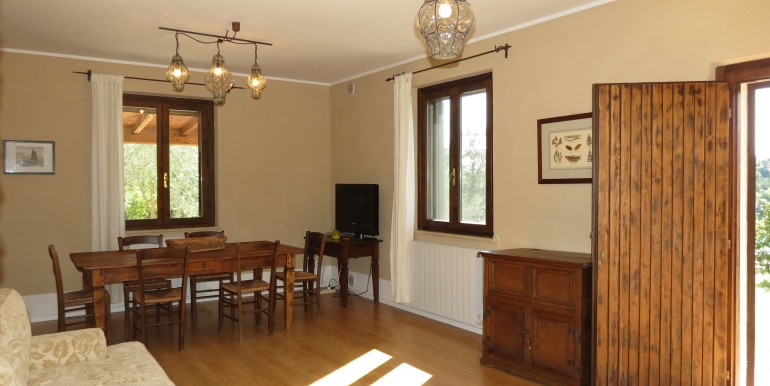 living with dining area