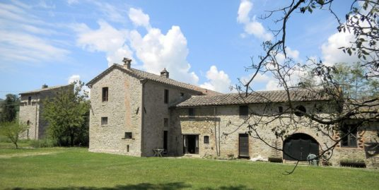 Renovated farmhouse with medieval tower