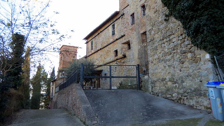 The house in the castle
