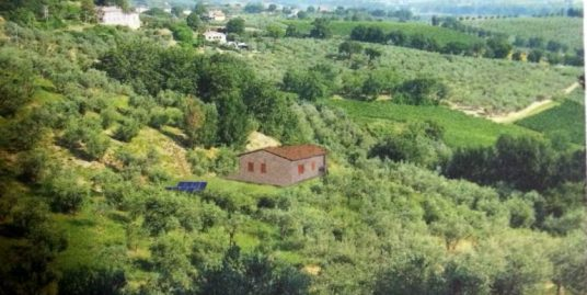 Panoramic plot and project Montefalco